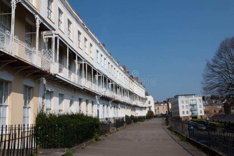 Vecindad rica en Bristol fotos de archivo libres de regalías