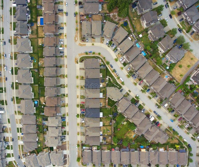 Vecindad suburbana fotos de archivo libres de regalías