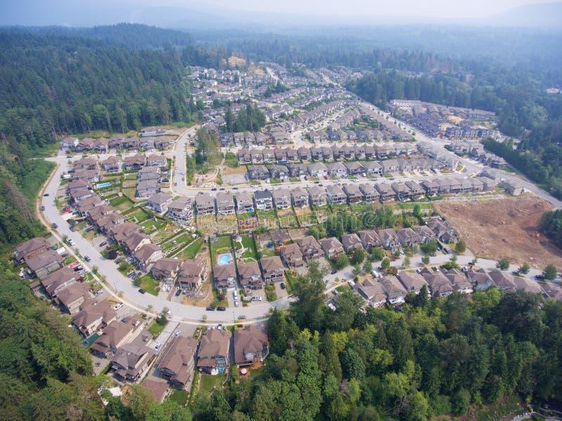 Vecindad suburbana fotografía de archivo