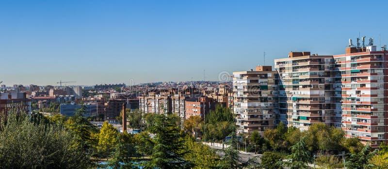 Vecindad tradicional en Madrid, España imágenes de archivo libres de regalías
