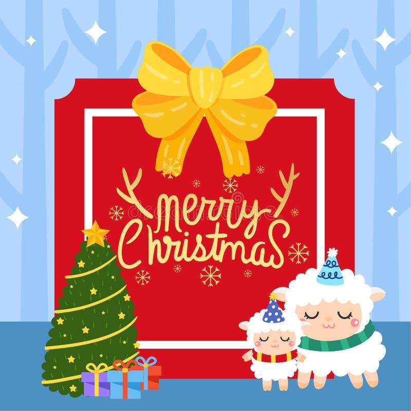 Vecter di Buon Natale fotografie stock libere da diritti