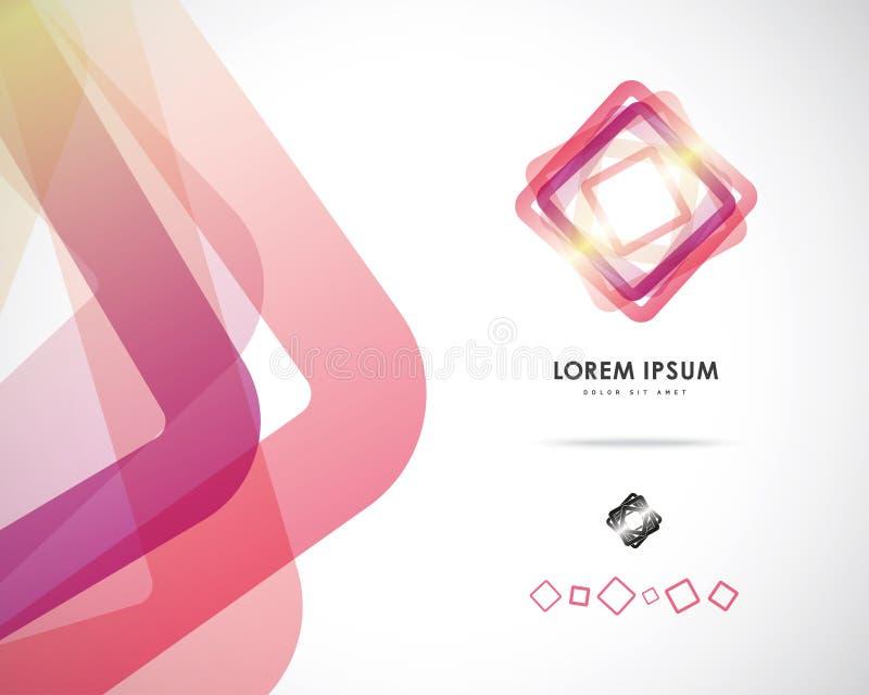 Vecteur abstrait Logo Design Template photo stock