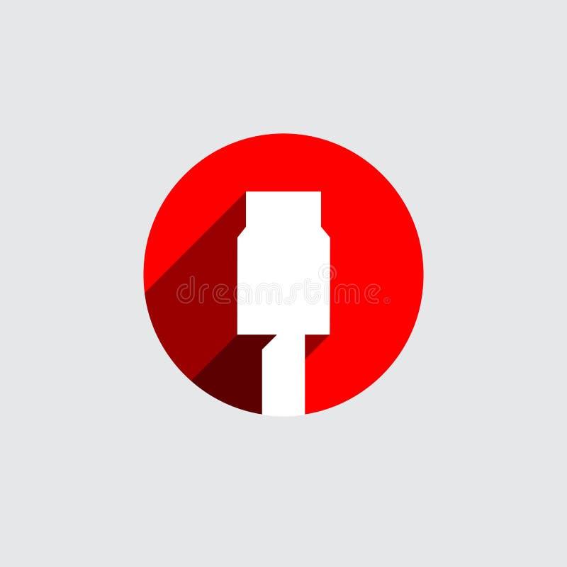 Vecteur abstrait Logo Design Template illustration libre de droits