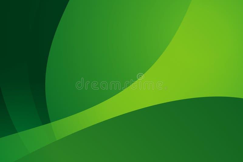 Vecteur abstrait vert de fond   illustration libre de droits