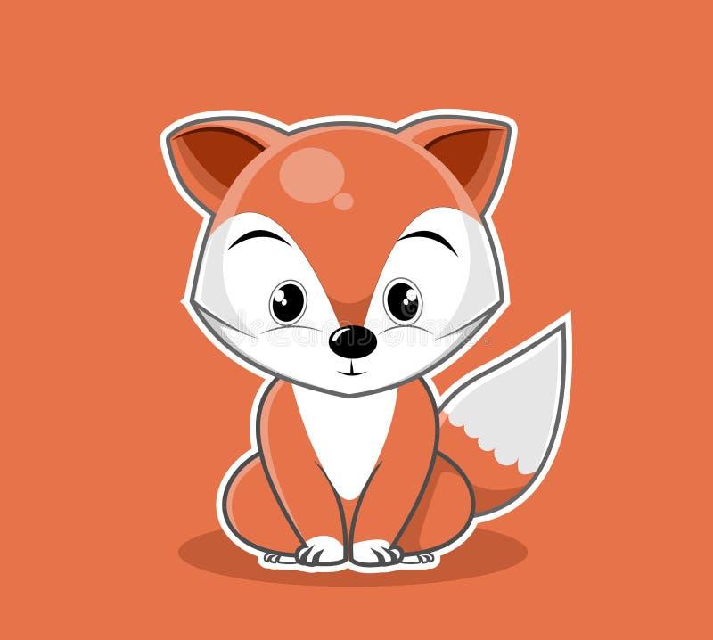 Vecteur animal mignon de mascotte de série de personnage de dessin animé photo libre de droits