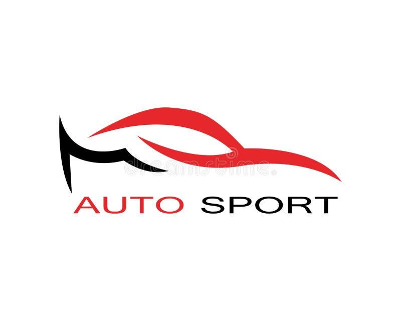 Vecteur automatique de conception de logo de voiture illustration de vecteur