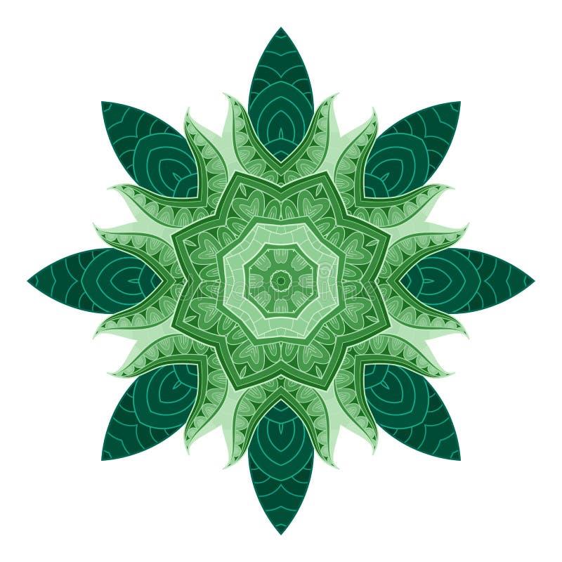 Vecteur beau solidement en couleurs illustration de vecteur