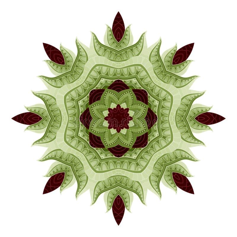 Vecteur belle Mandala In Color illustration libre de droits