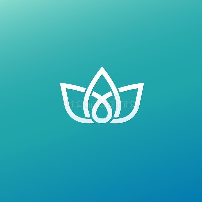 Vecteur celtique de noeud Symbole ornemental de tatouage Rétro emblème de cercle de luxe Logo écossais traditionnel de vecteur Li illustration stock