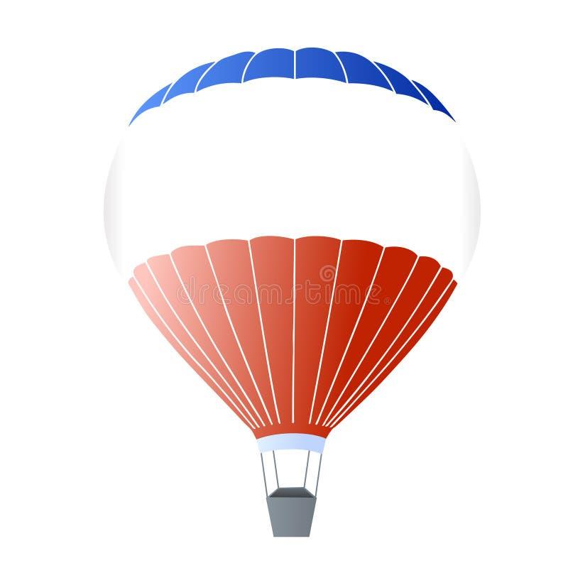 vecteur chaud de ballon à air illustration de vecteur