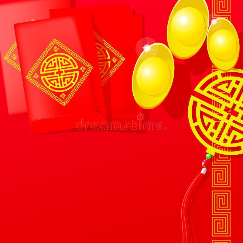 Vecteur chinois de nouvelle année photos stock