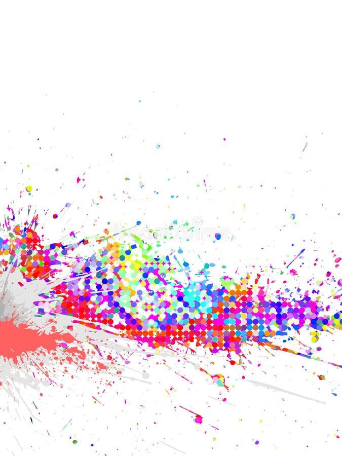 vecteur coloré de fond illustration stock