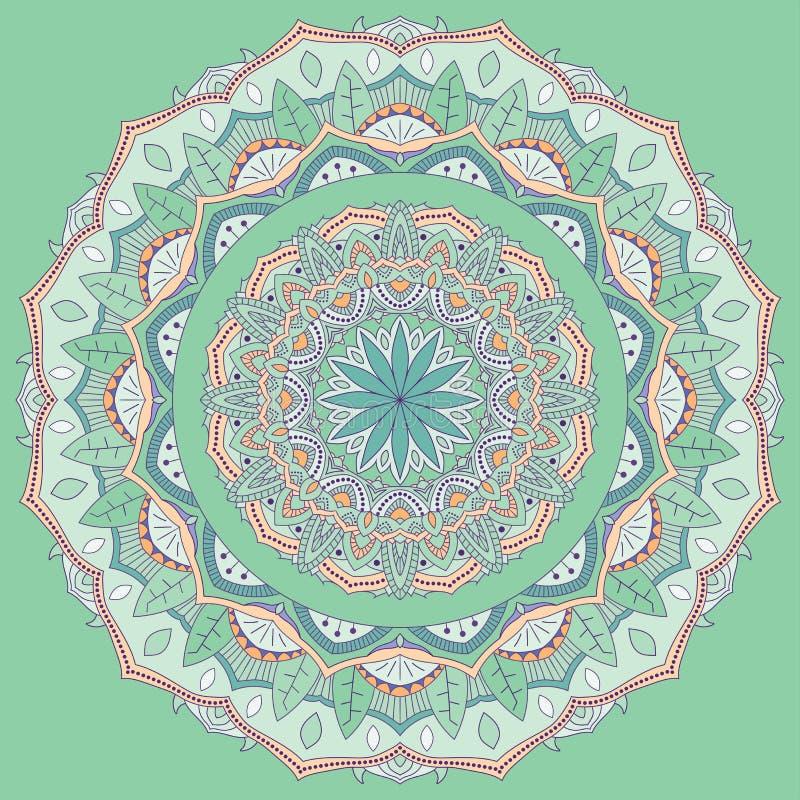 vecteur coloré de mandala photos stock