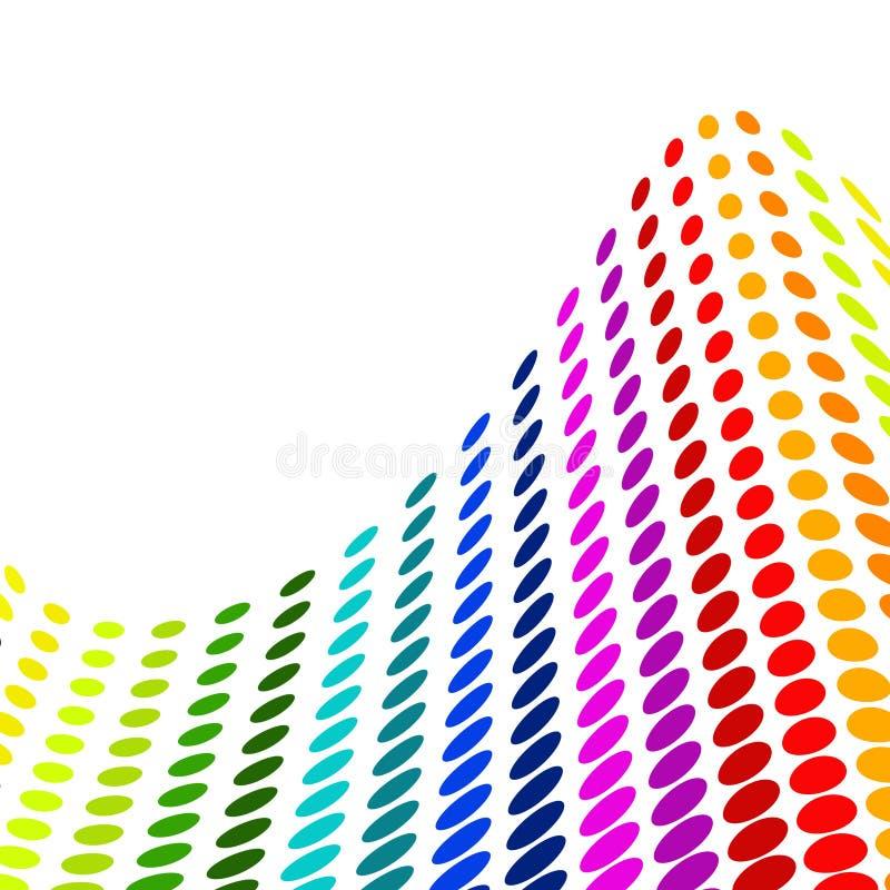 Vecteur coloré tramé illustration stock