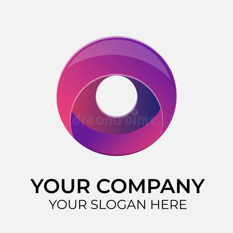 Vecteur color? Logo Design illustration de vecteur