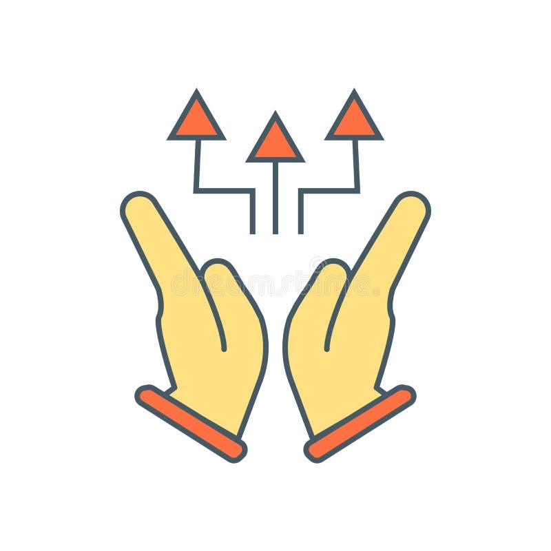 Vecteur concurrentiel d'icône d'isolement sur le fond blanc, signe concurrentiel illustration stock