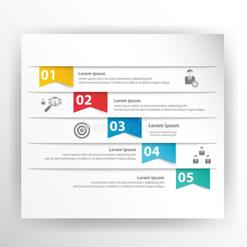 Vecteur d'affaires de la présentation Template illustration stock