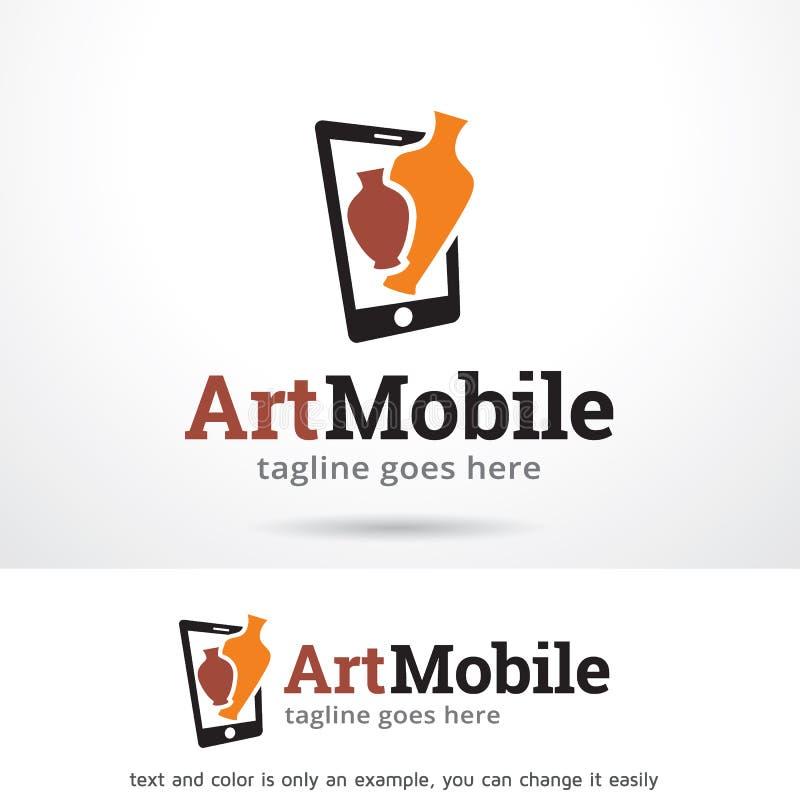 Vecteur d'Art Mobile Logo Template Design illustration de vecteur