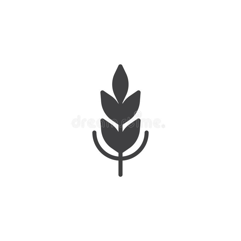 Vecteur d'icône de céréale illustration stock
