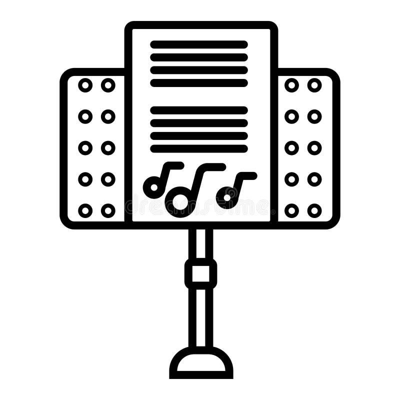 Vecteur d'icône de haut-parleur illustration libre de droits