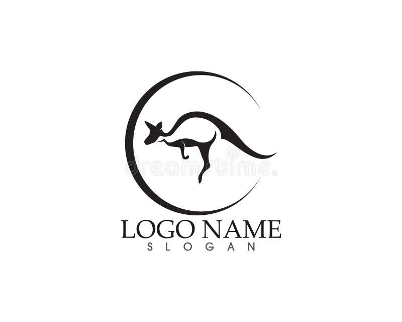 Vecteur d'icône de kangourou illustration libre de droits