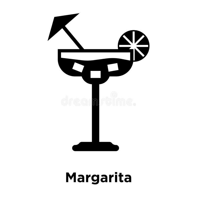 Vecteur d'icône de margarita d'isolement sur le fond blanc, concept de logo illustration de vecteur