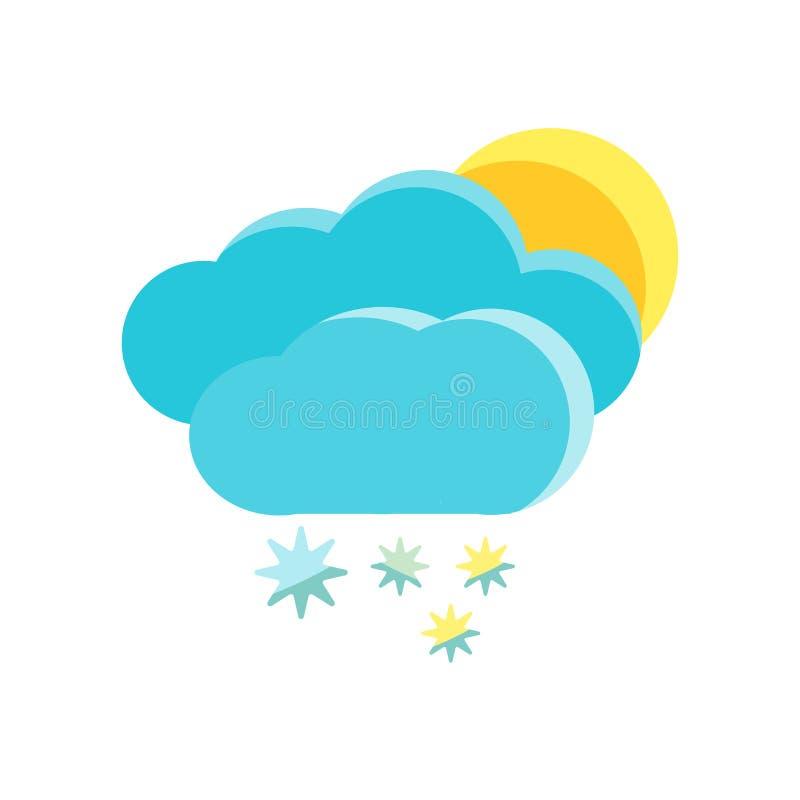 Vecteur d'icône de Milou d'isolement sur le fond blanc, signe de Milou, symboles froids neigeux d'hiver illustration de vecteur