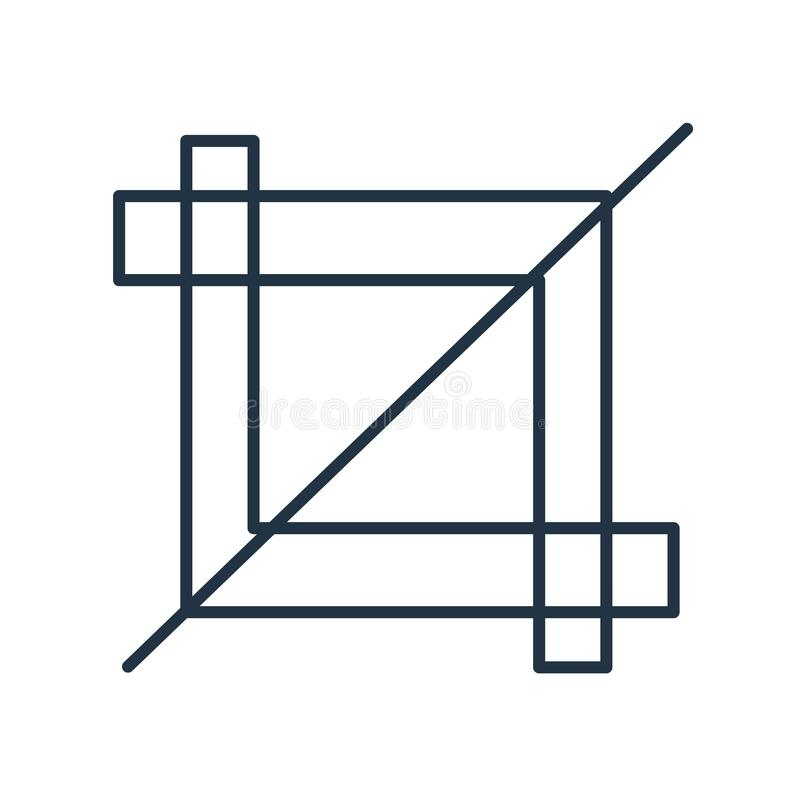 Vecteur d'icône d'outil de culture d'isolement sur le fond blanc, signe d'outil de culture illustration de vecteur
