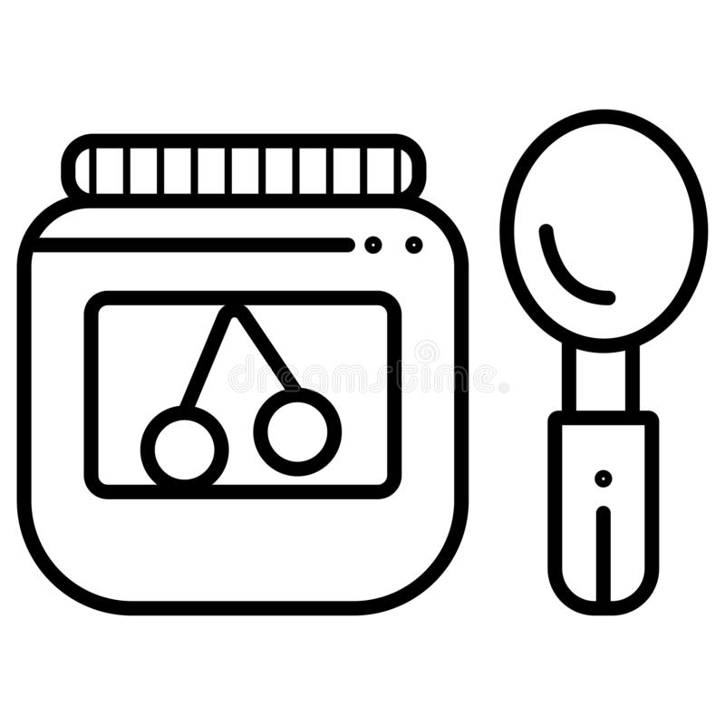 Vecteur d'ic?ne d'aliment pour b?b? illustration de vecteur
