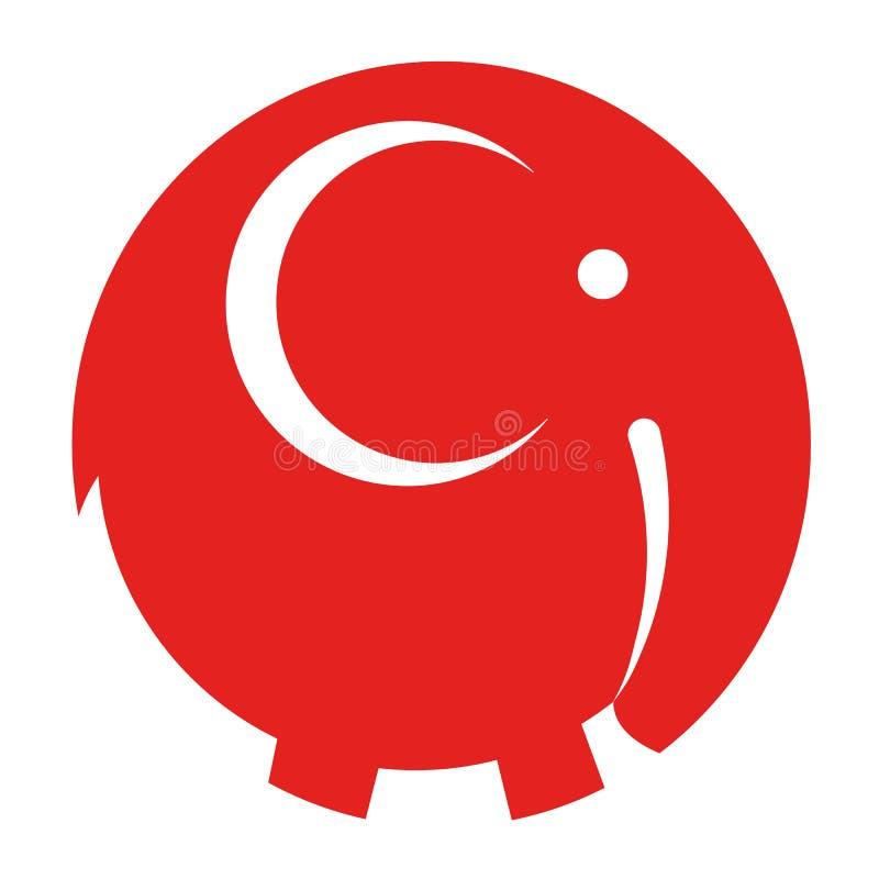 Download Vecteur d'icône d'éléphant illustration de vecteur. Illustration du africain - 87707653