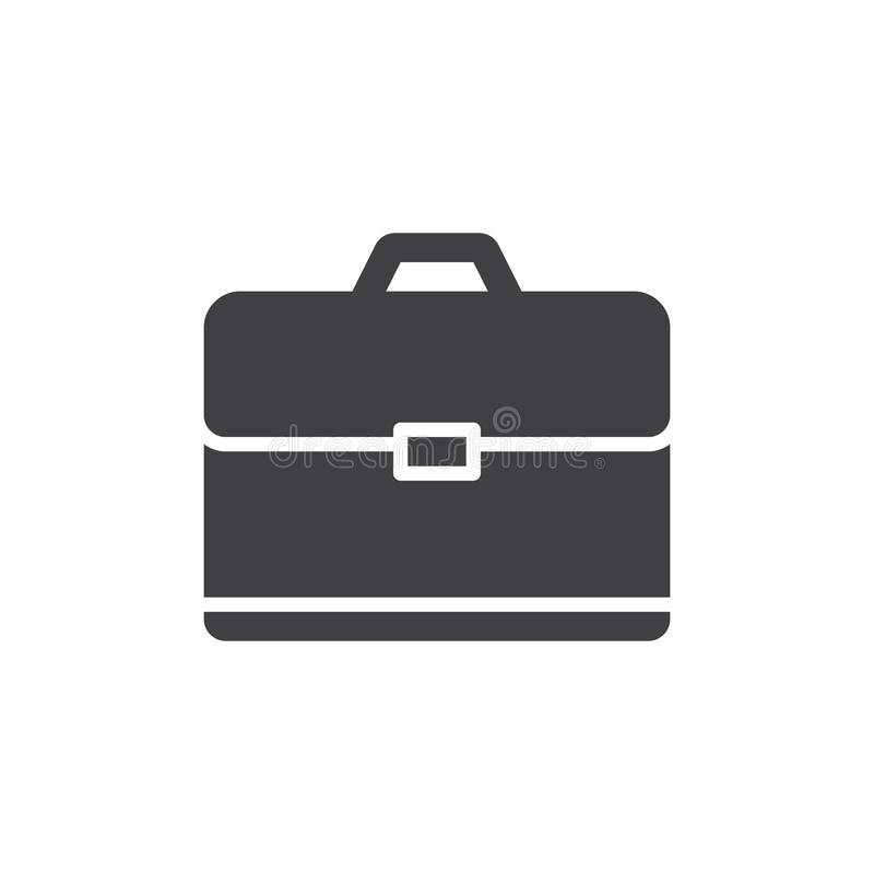 Vecteur d'icône de serviette, signe plat rempli, pictogramme solide d'isolement sur le blanc illustration de vecteur