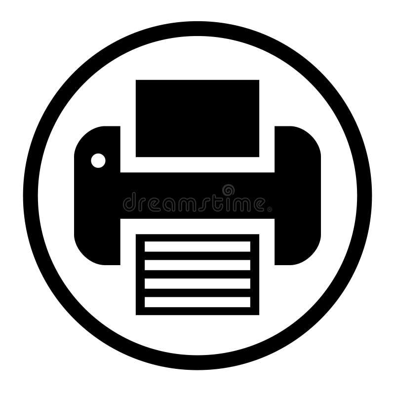 Vecteur D'ic?ne D'imprimante Symbole D'illustration D'équipement De Bureau Logo De Fax Illustration de Vecteur - Illustration du imprimante, équipement: 154413740
