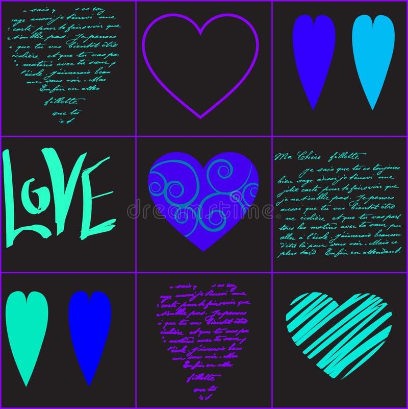 vecteur d'illustration de coeur illustration stock