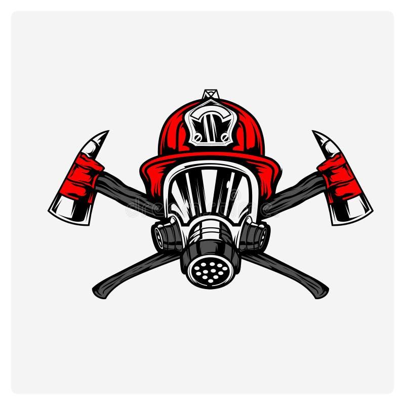 Vecteur d'illustration de sapeur-pompier photographie stock