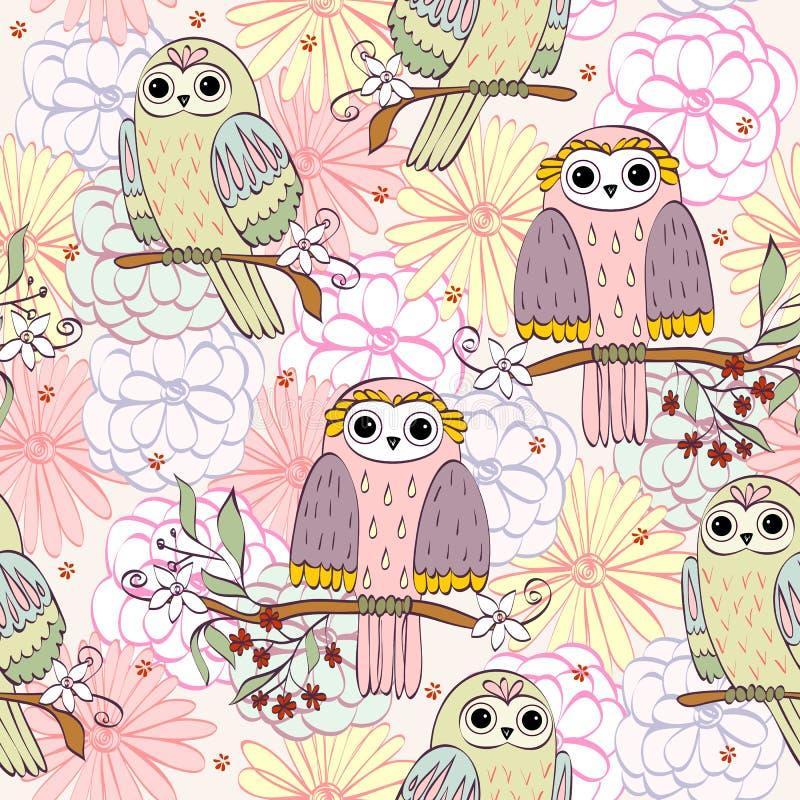 VECTEUR d'illustration du dessin animé Owl illustration de vecteur