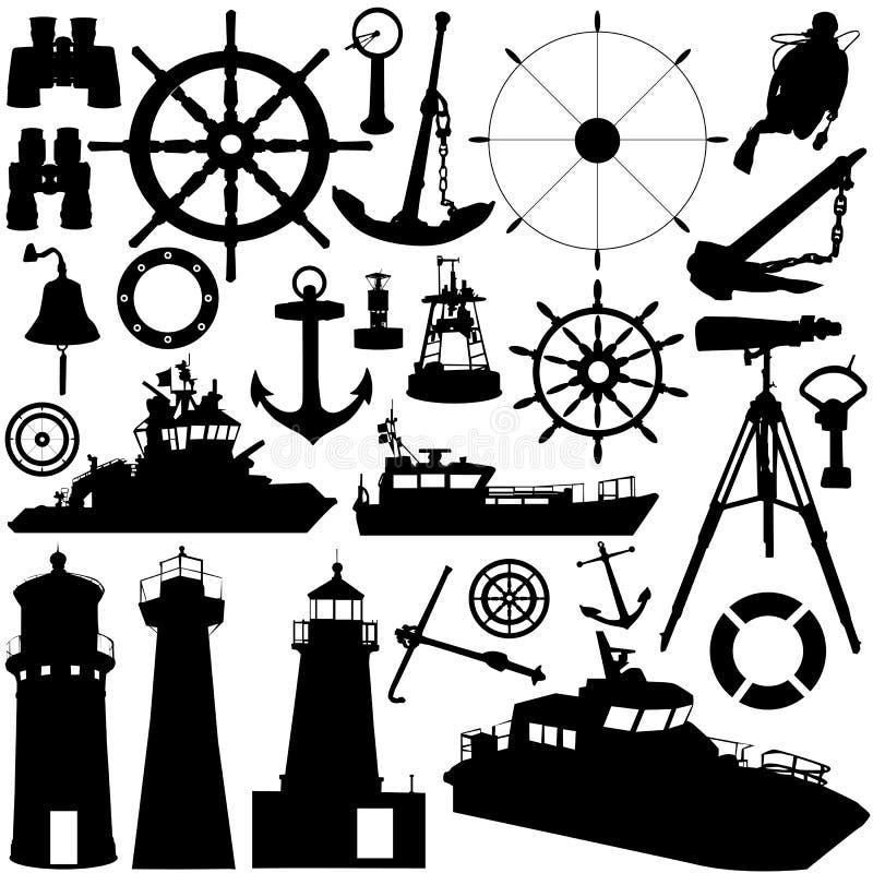 Vecteur d'objet de navigation illustration libre de droits
