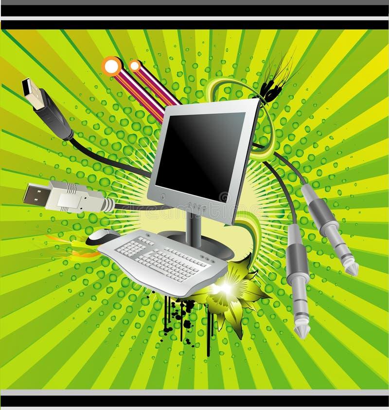 Vecteur d'ordinateur illustration libre de droits