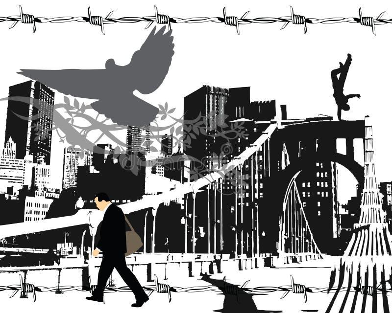 Vecteur d'ouvrier illustration libre de droits