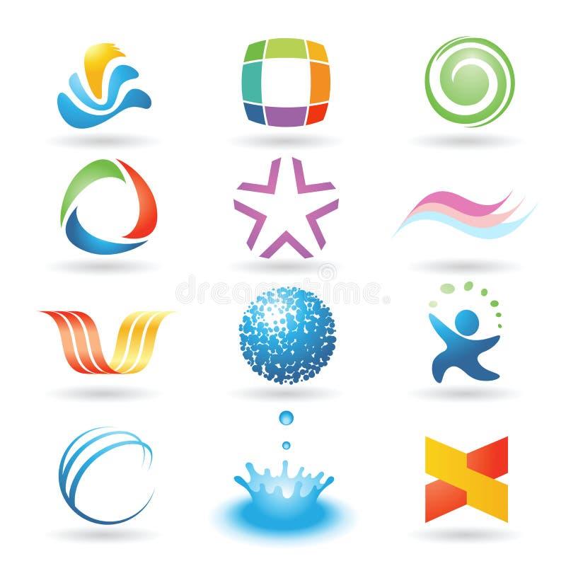 vecteur de 8 éléments de conception illustration libre de droits