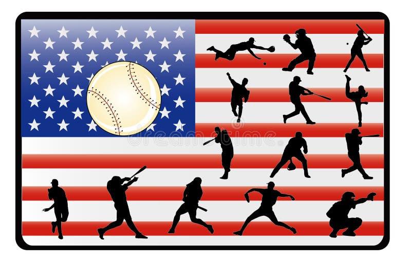 Vecteur de base-ball illustration libre de droits