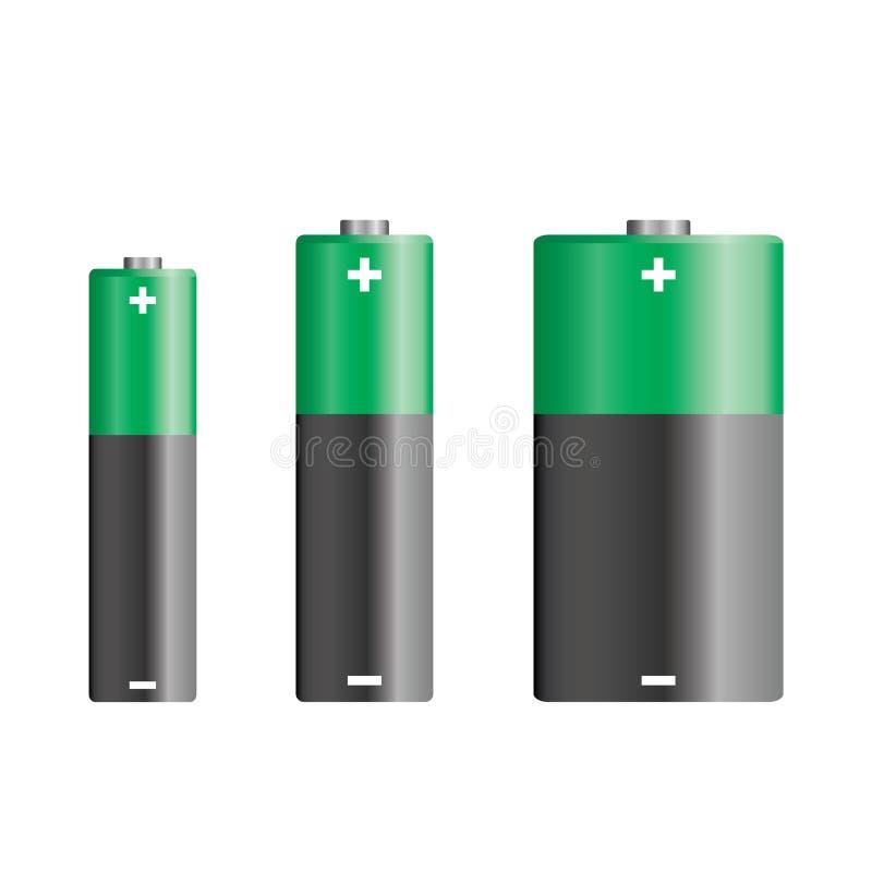 vecteur de batteries illustration de vecteur