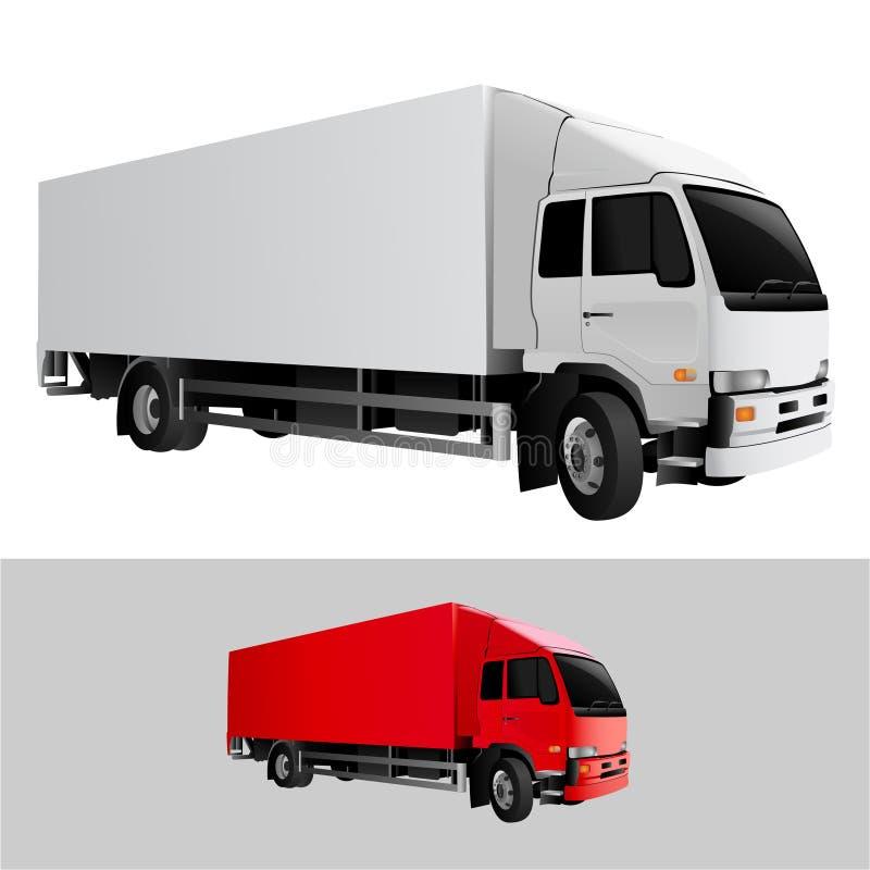 Vecteur de camion illustration libre de droits