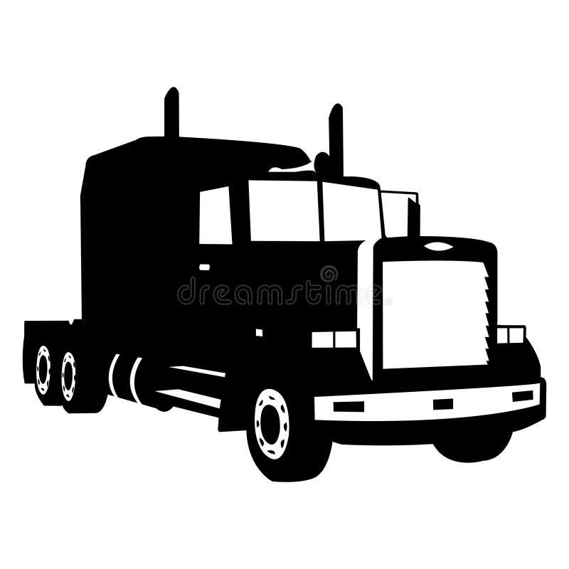 vecteur de camion photo stock