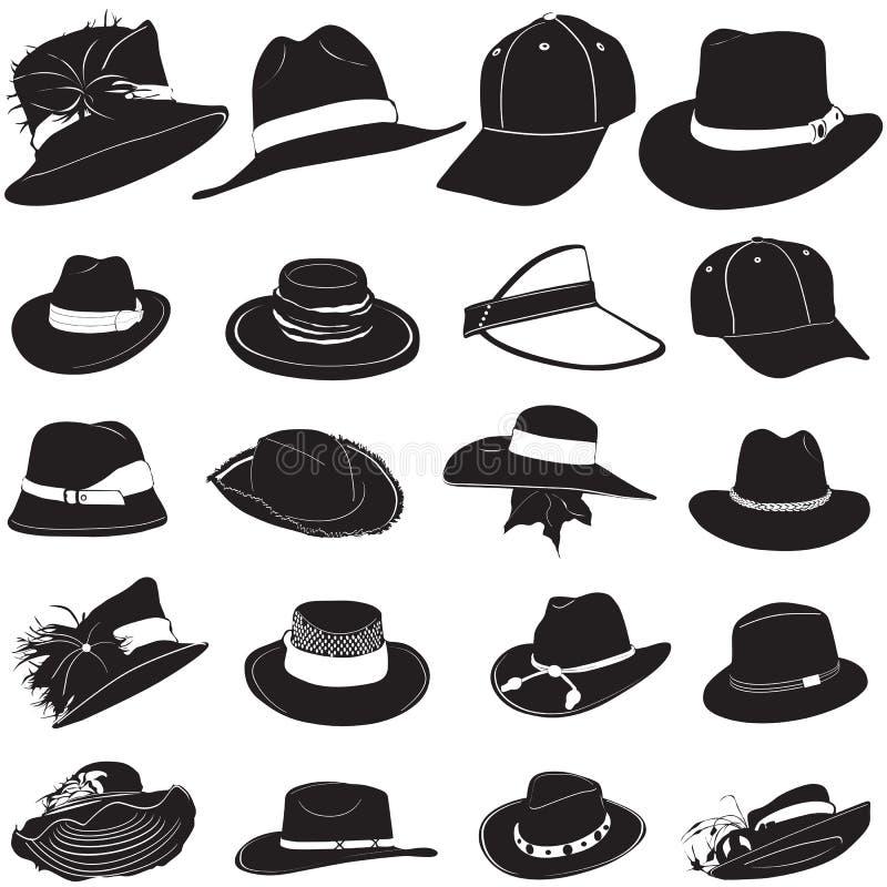 Vecteur de chapeau de mode illustration libre de droits