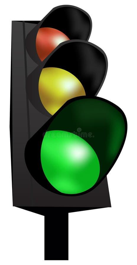 vecteur de circulation de lumières illustration stock