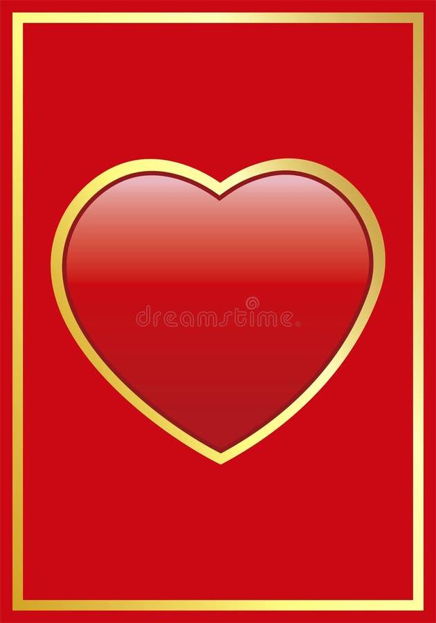 vecteur de coeur illustration libre de droits