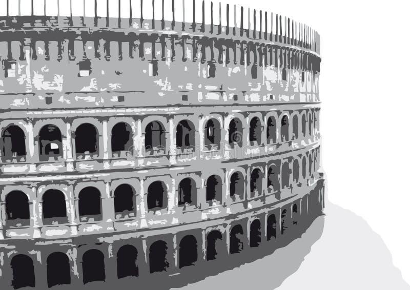 vecteur de colosseum illustration stock