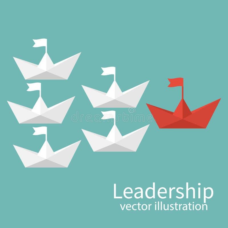 Vecteur de concept de direction illustration de vecteur