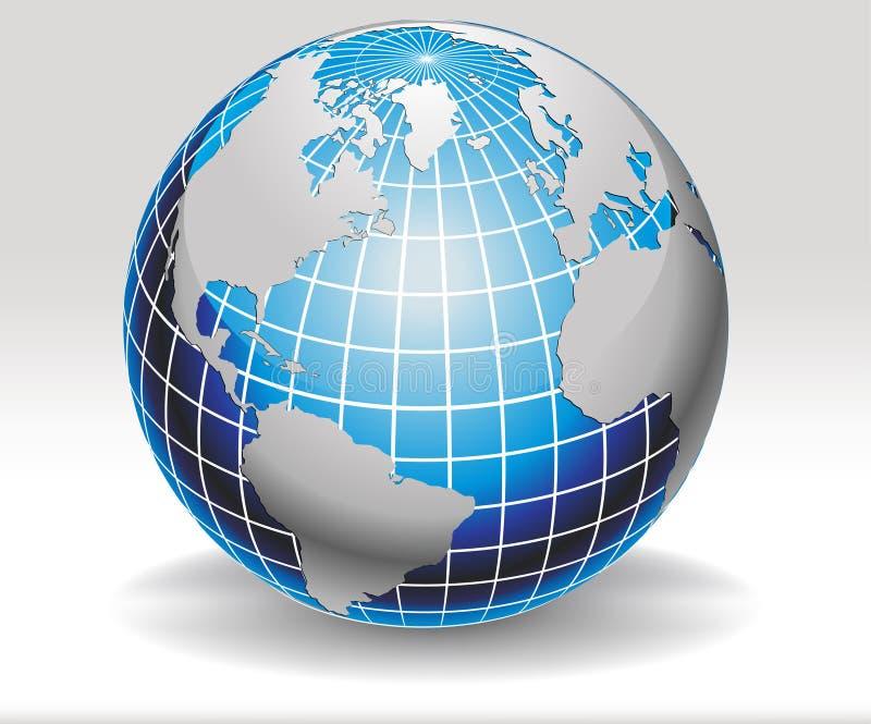 Vecteur de conception de globe illustration libre de droits