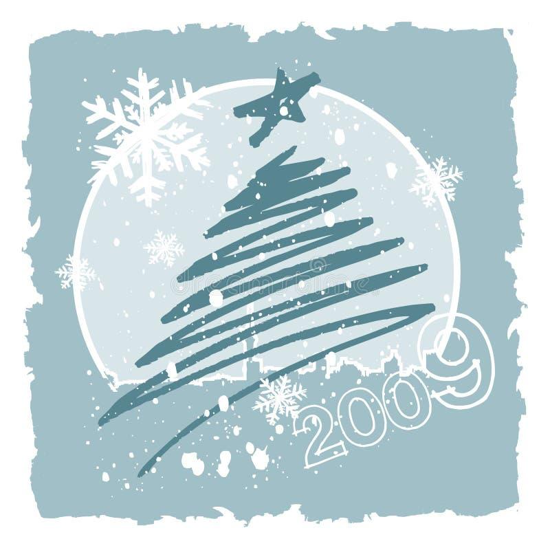 vecteur de conception de Noël illustration libre de droits